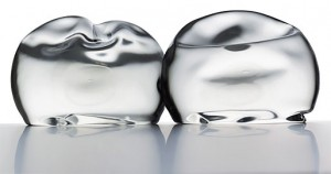 silicone or saline breast implant