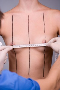 breast implant measurements
